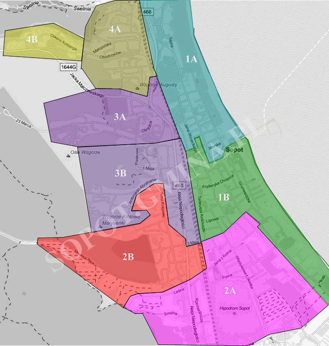 Mapa podokręgów